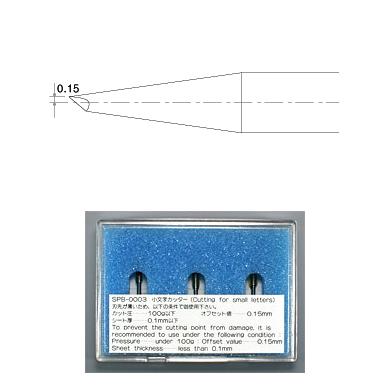SPB-0003 偏芯替刃小文字用