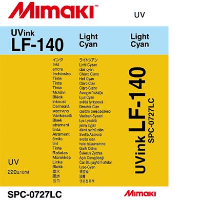 SPC-0727LC LF-140 ライトシアン