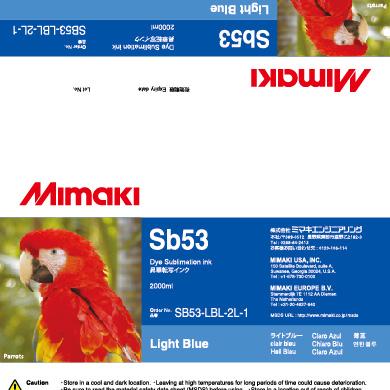 SB53-LBL-2L Sb53 ライトブルー