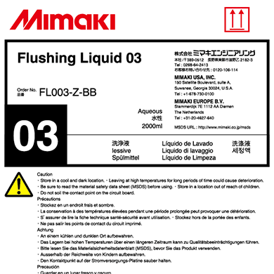 FL003-Z-BB 洗浄液03 2Lボトル