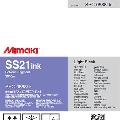 SPC-0588LK SS21 ソルベントインクパック ライトブラック