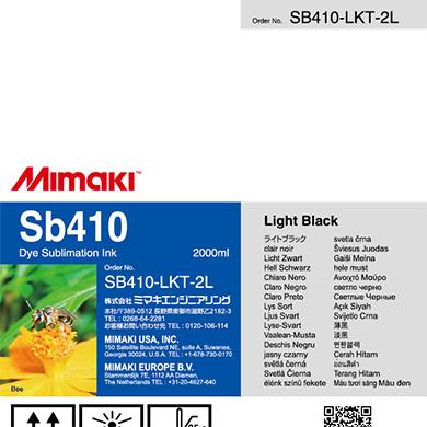 SB410-LKT-2L Sb410 ライトブラックT