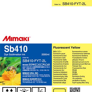SB410-FYT-2L Sb410 蛍光イエローT