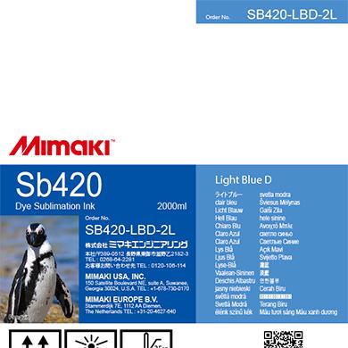 SB420-LBD-2L Sb420 ライトブルーD