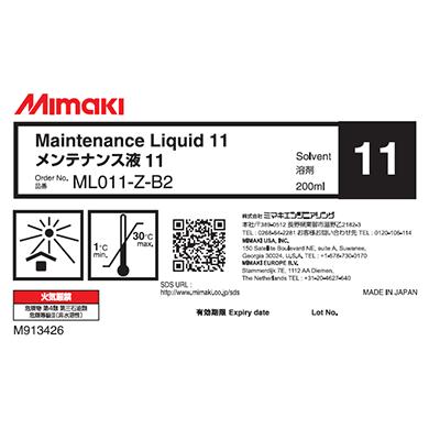 ML011-Z-B2 メンテナンス液11ボトル