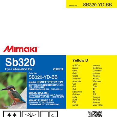 SB320-YD-BB Sb320 イエローD