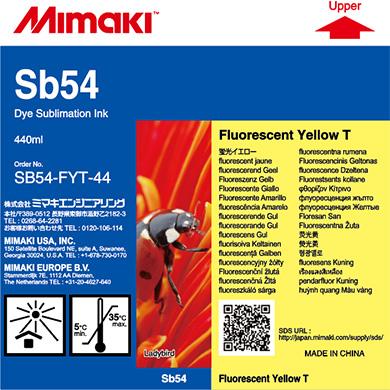 SB54-FYT-44 Sb54 蛍光イエローT