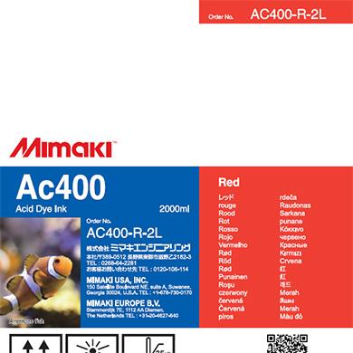 AC400-R-2L Ac400 レッド