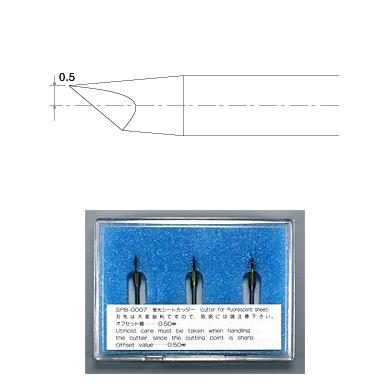 SPB-0007 偏芯替刃蛍光シート用