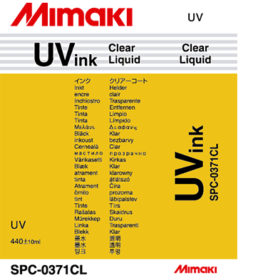 SPC-0371Cl UV硬化インク クリア