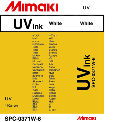 SPC-0371W UV硬化インク ホワイト