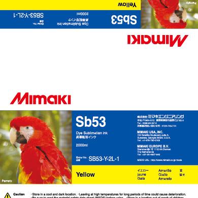 SB53-Y-2L Sb53 イエロー