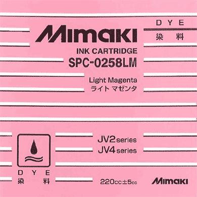 SPC-0258LM 水性染料インク ライトマゼンタ