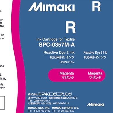 SPC-0357M 反応染料2インク マゼンタ