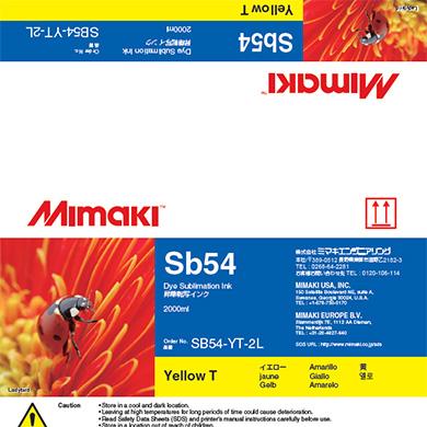 SB54-YT-2L Sb54 イエローT