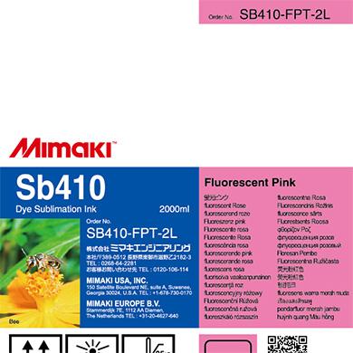 SB410-FPT-2L Sb410 蛍光ピンクT