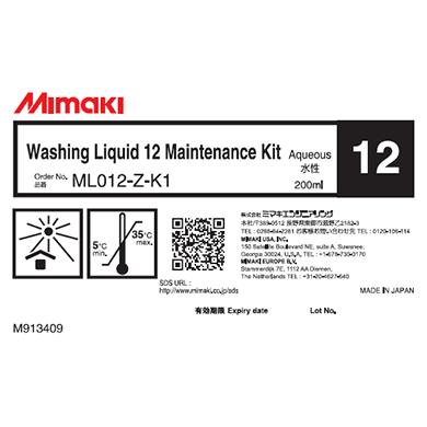 ML012-Z-K1 洗浄液12メンテナンスキット