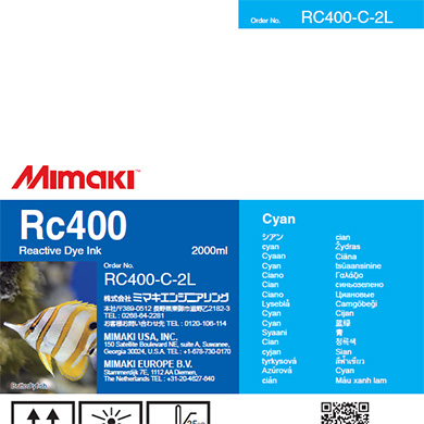 RC400-C-2L Rc400 シアン
