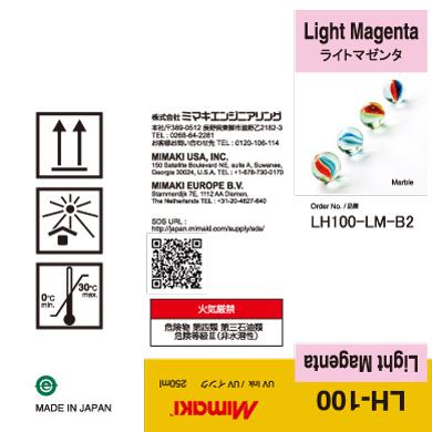 LH100-LM-B2 LH-100 ライトマゼンタ