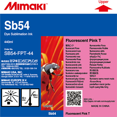 SB54-FPT-44 Sb54 蛍光ピンクT