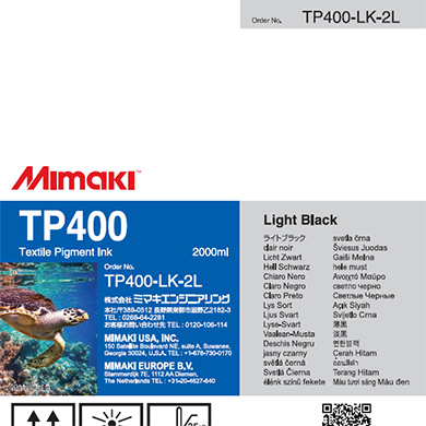 TP400-LK-2L TP400 ライトブラック