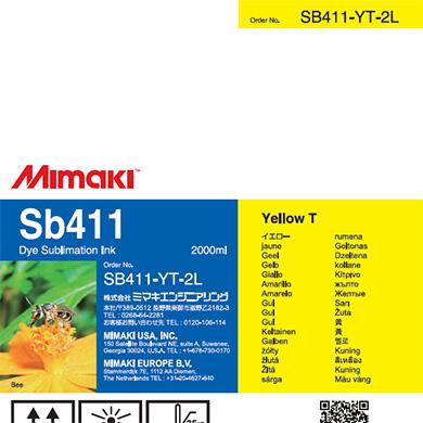 SB411-YT-2L Sb411 イエローT