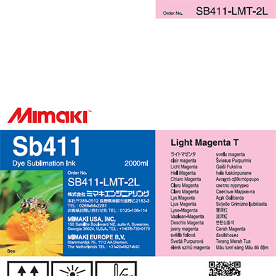 SB411-LMT-2L Sb411 ライトマゼンタT