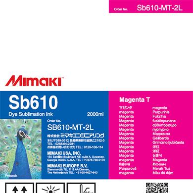 SB610-MT-2L Sb610 マゼンタT