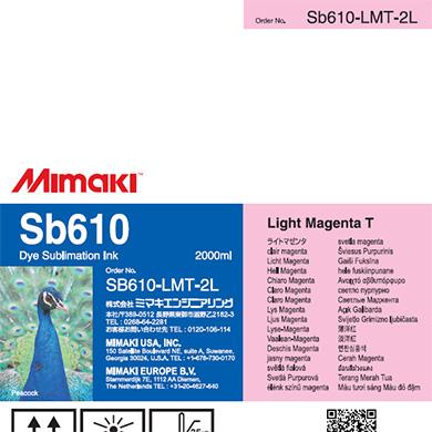 SB610-LMT-2L Sb610 ライトマゼンタT