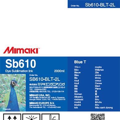 SB610-BLT-2L Sb610 ブルーT
