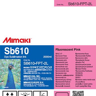 SB610-FPT-2L Sb610 蛍光ピンクT