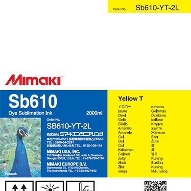 SB610-YT-2L Sb610 イエローT