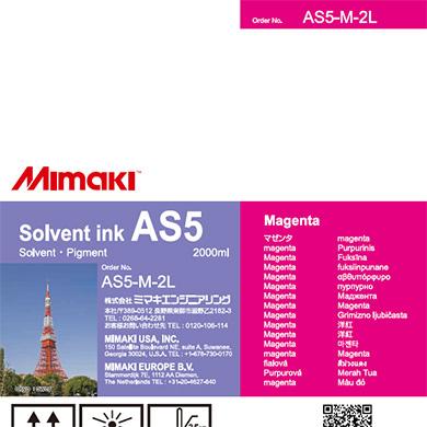 AS5-M-2L AS5 マゼンタ