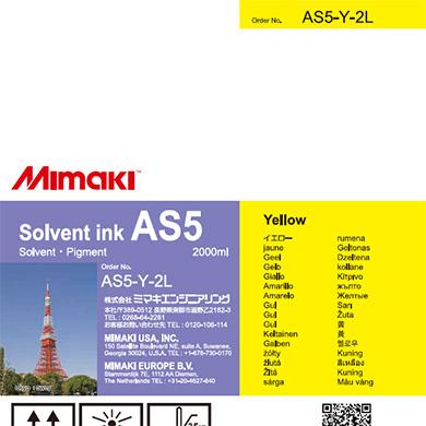 AS5-Y-2L AS5 イエロー