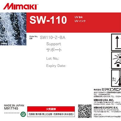 SW110-Z-BA 3Dサポートインク SW-110 1Lボトル
